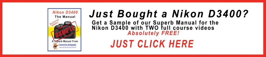 d3400 sample ad