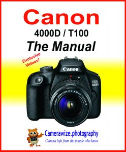 Canon EOS 4000d T100 MANUAL cover